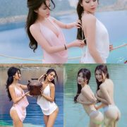 Vietnamese Hot Model - Two Sexy Girl In The Valley - TruePic.net