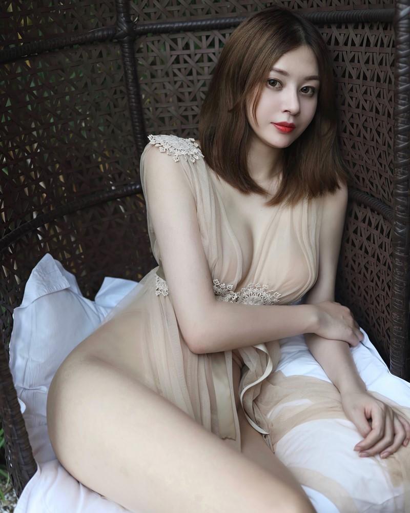 XIUREN No.2623 - Chinese Model - 樱花Elsa - Thin Transparent Silk - TruePic.net