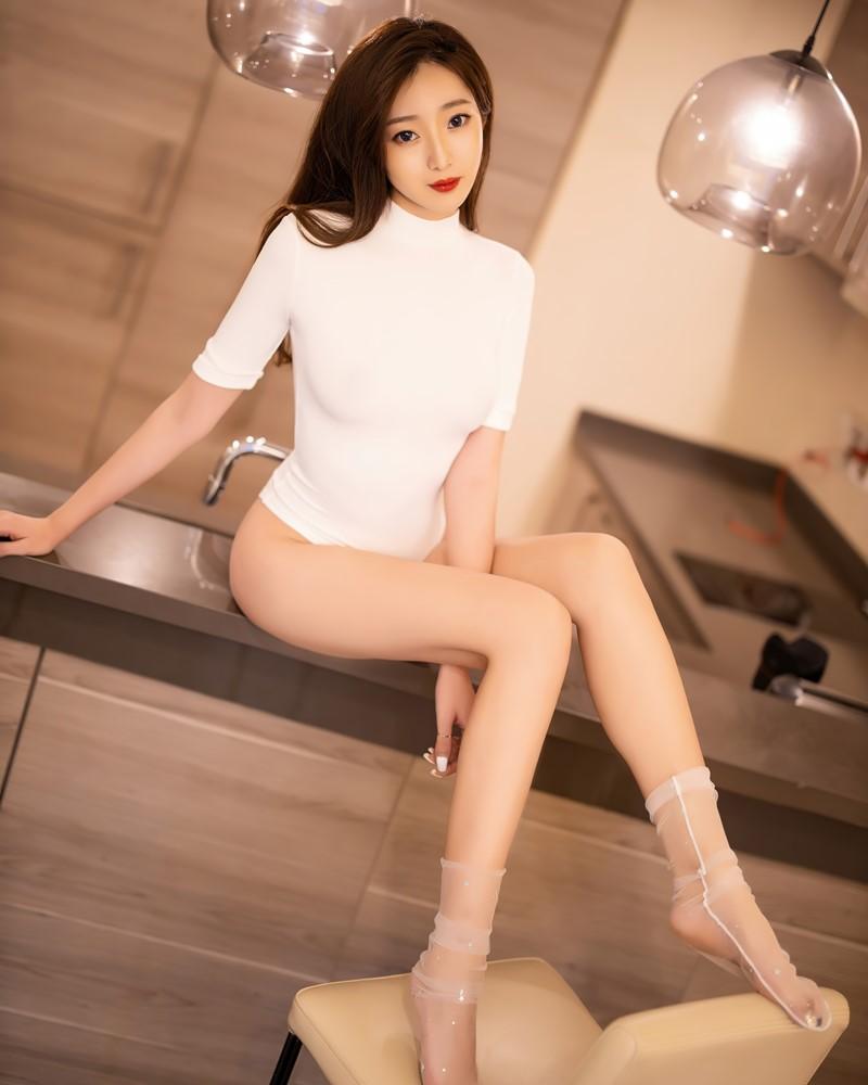 XiaoYu Vol.389 - Chinese Model - 安琪Yee - Beautiful In White - TruePic.net