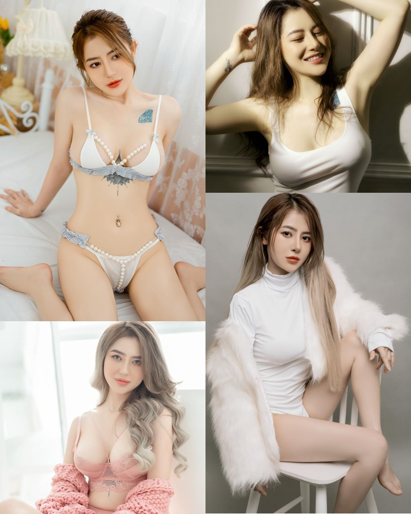 Vietnamese Sexy Model - Nguyen Thi Bao Yen - My Color Lingerie Collection - TruePic.net